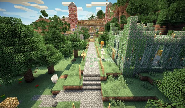 Mansion Adventure Map