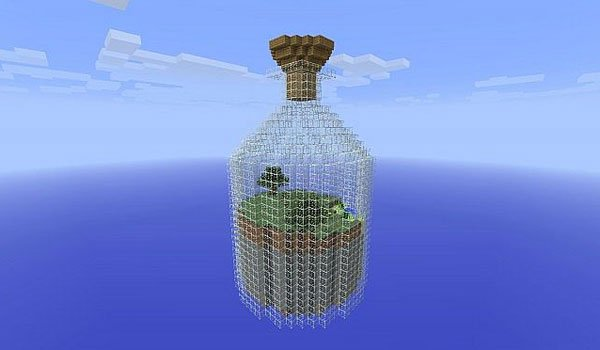 World in a Jar Survival Map for Minecraft 1.5.1