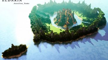 Eldaria Island Map