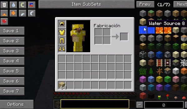 Not Enough Items Mod for Minecraft 1.7.2 and 1.7.10