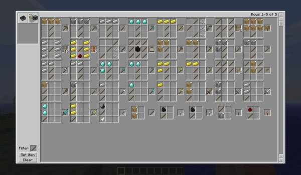 Recipe book mod for minecraft 1 6 2 and 1 5 2