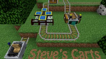 Steve's Carts 2 Mod