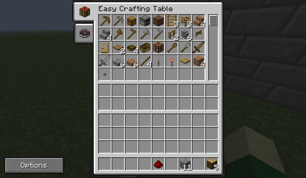 Easy Crafting Mod