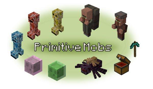 Primitive Mobs Mod