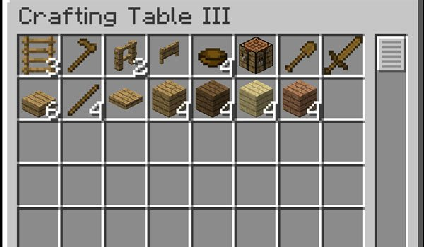 Craftting Table Mod