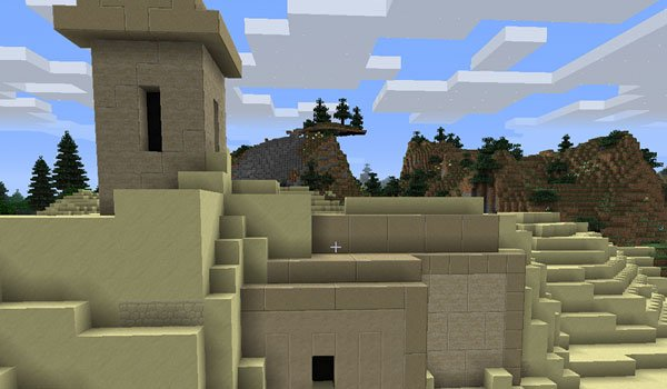 imagen of a construction, with the megalithic construction mod.