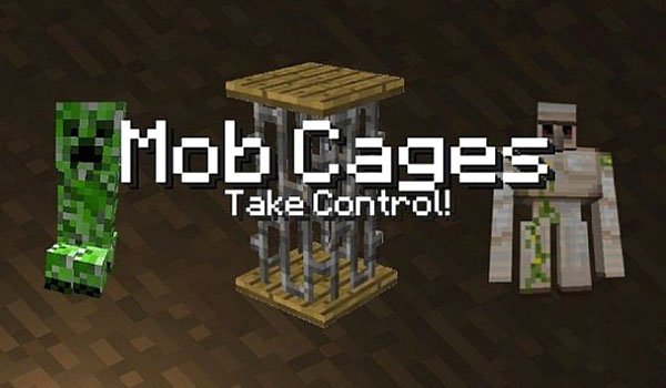 Mob Cages Mod