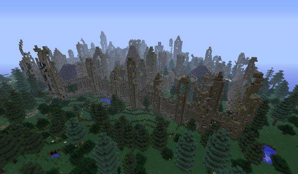City, Wall and Ruin Generators Mod