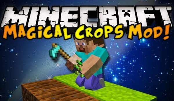 Magical Crops Mod