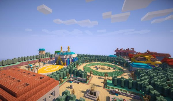 Pokemon Johto Minecraft Map