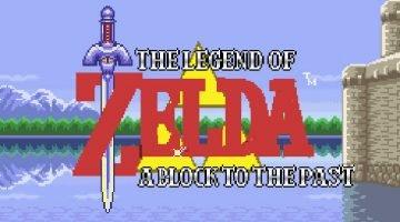 Legend of Zelda: Block to the Past Map