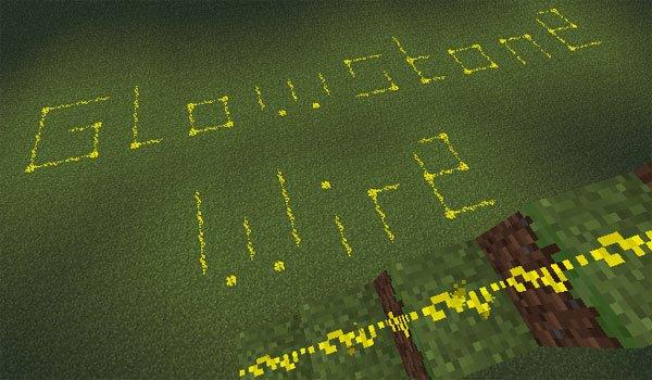 Glowstone Wire Mod