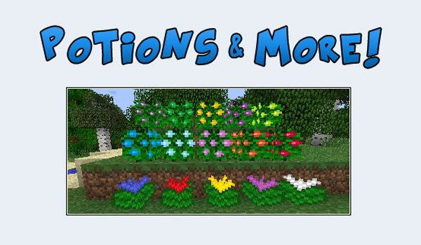 Potions and More Mod