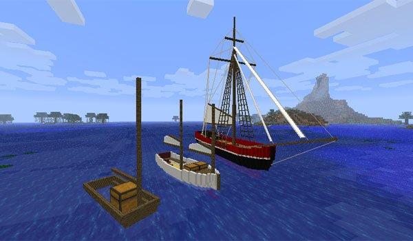 Small Boats Mod