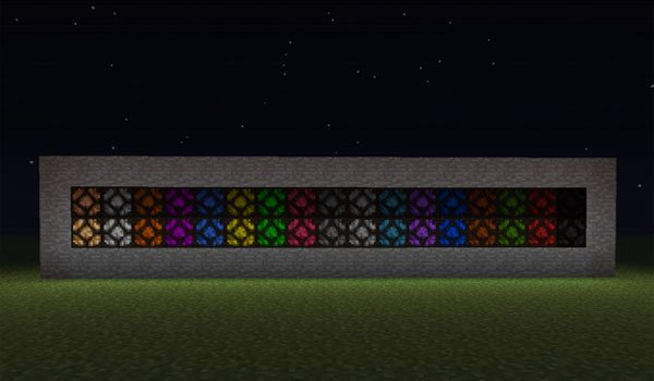 Tinted Lamps Mod