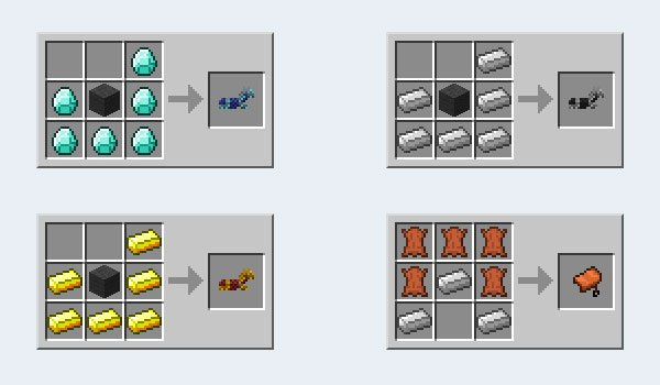 Craftable Horse Armor Mod for Minecraft 1.7.2 and 1.7.10 ...