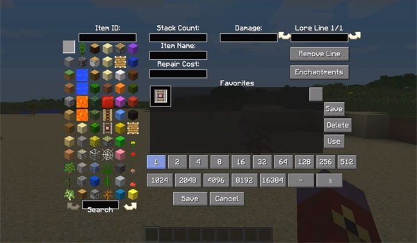 All-U-Want Inventory Editor Mod