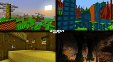 SonicCraft Map