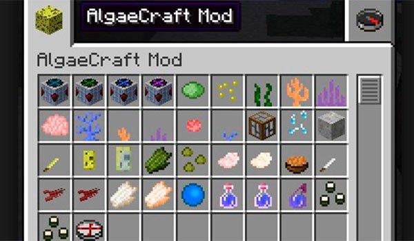 AlgaeCraft Mod