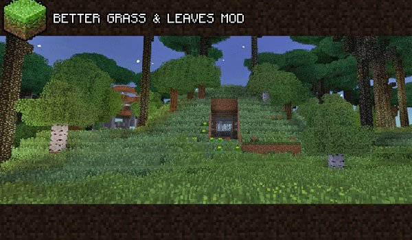 Better Grass and Leaves Mod