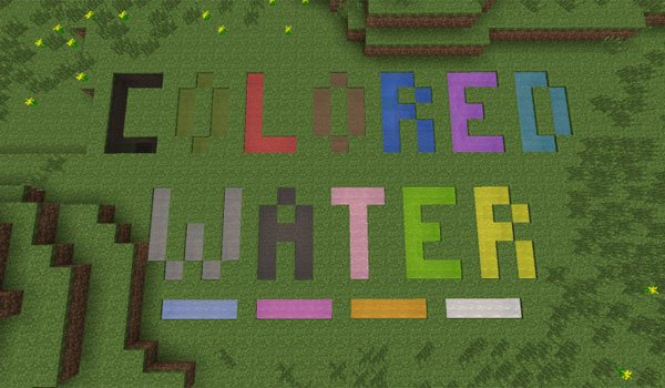 Colored Water Mod