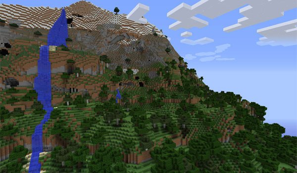 Alternate Terrain Generation Mod