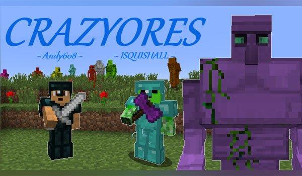 CrazyOres Mod