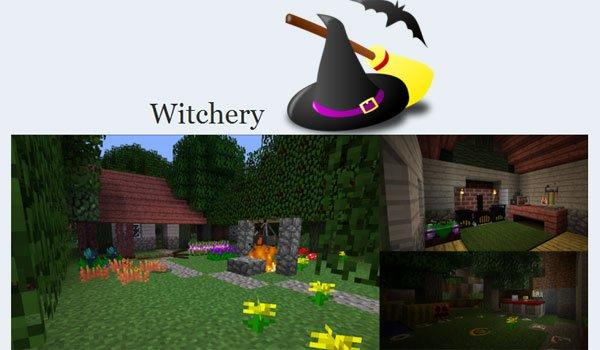 minecraft mod witchery