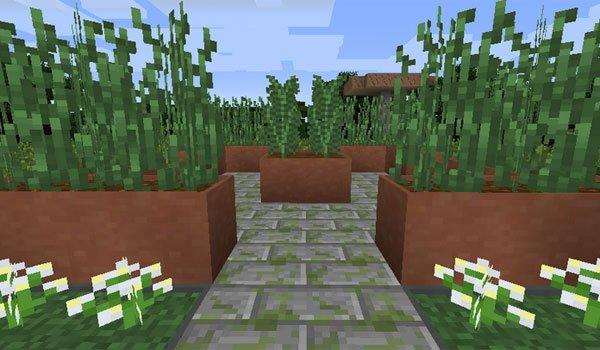Modular Flower Pots Mod