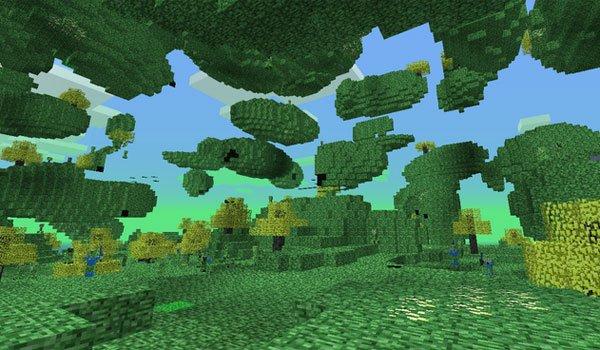 image of the new dimension adding the creep mod 1.7.2.