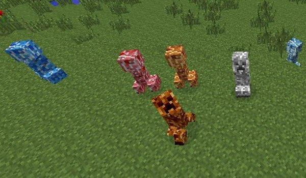 Varied Creepers Mod