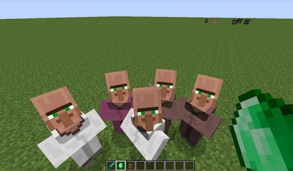 Villagers Need Emeralds Mod
