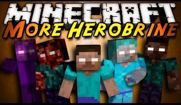 Mo' Herobrines Mod