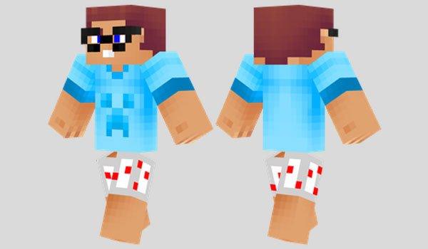 Noob Skin For Minecraft MineCraftings - Noob skins fur minecraft