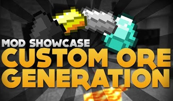 Custom Ore Generation Mod