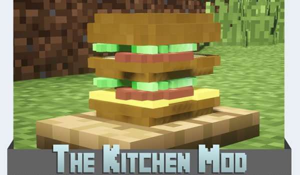 The Kitchen Mod For Minecraft 1 7 2 And 1 7 10 Minecraftings