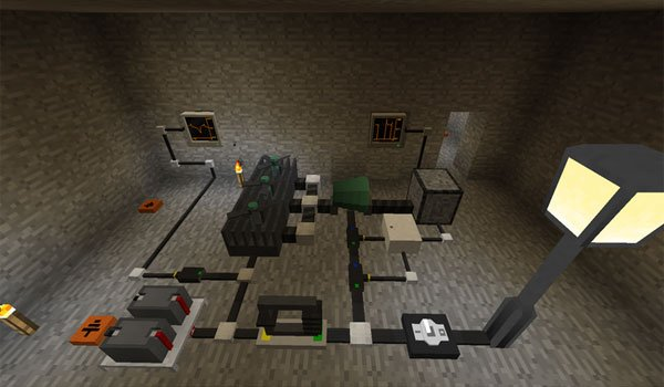 image where we see various elements of the electrical age mod 1.7.2 and 1.7.10.