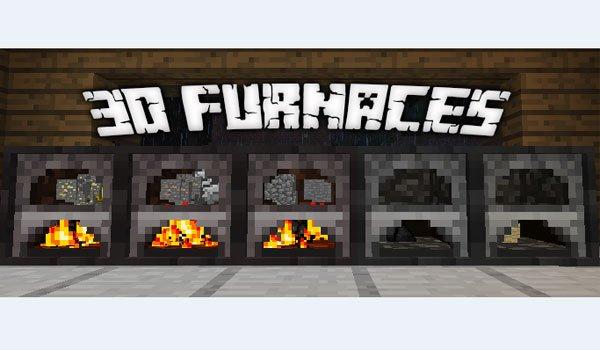 3D Furnace Mod