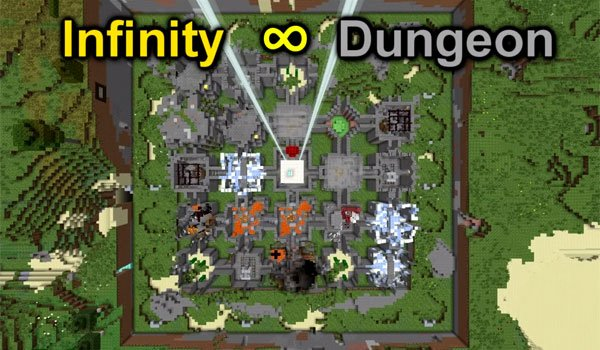 Infinity Dungeon Map