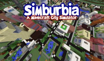Simburbia City Simulator Map