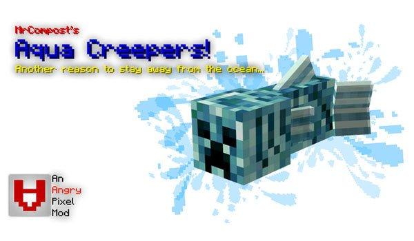 Aqua Creepers Mod
