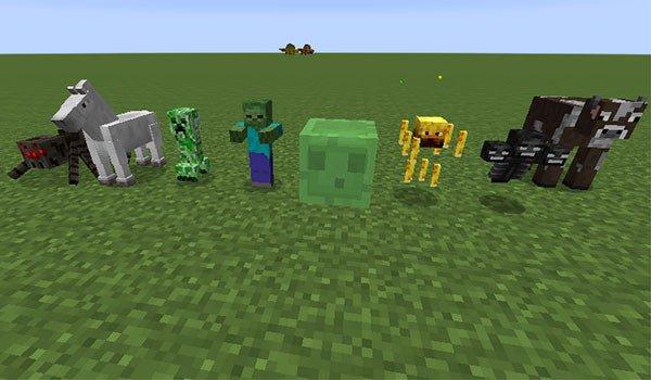 Mob Statues Mod