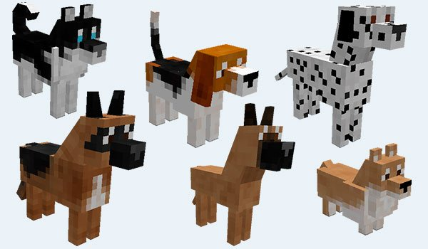How To Breed Dogs In Minecraft