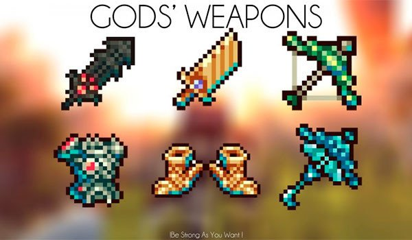 God's Weapons Mod