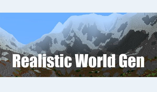 Realistic World Gen Mod