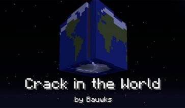 Crack in the World Map