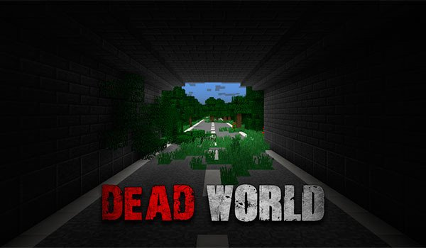 Dead World Map for Minecraft 1.8 | MineCraftings