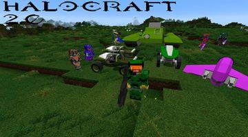 HaloCraft 2.0 Mod