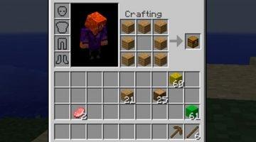 Inventory Crafting Grid Mod