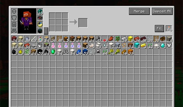 Overpowered Inventory Mod